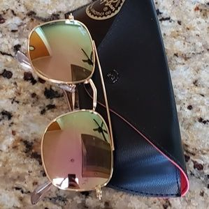 Rayban sunglasses square